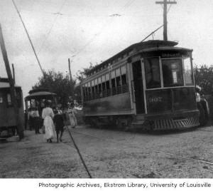 Inter-urban Near Louisville 1907